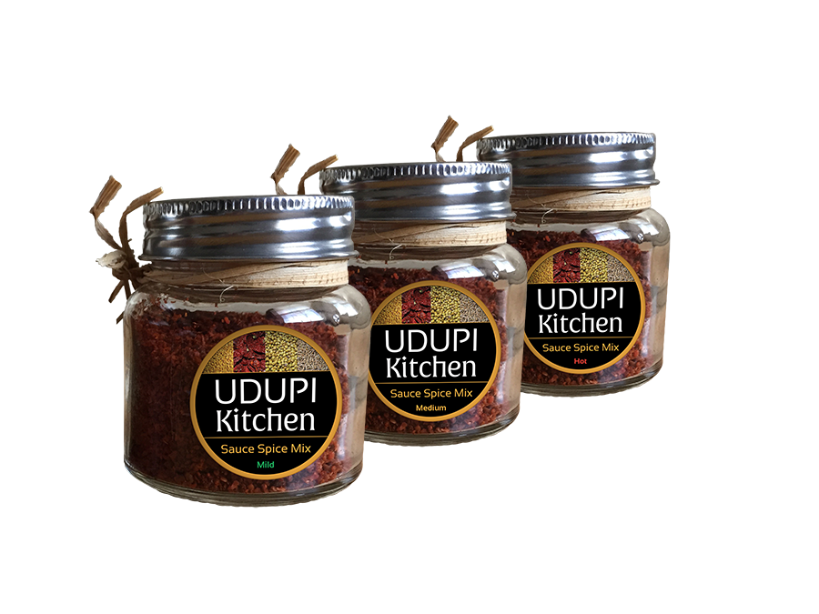 Udupi Kitchen Spice jars