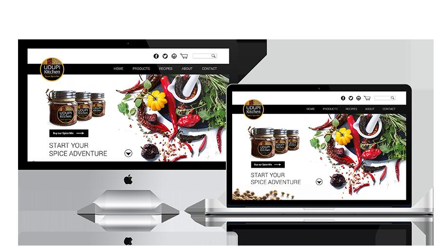 Udupi Kitchen Website