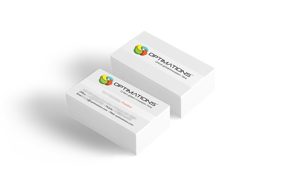 Optimations Business Cards
