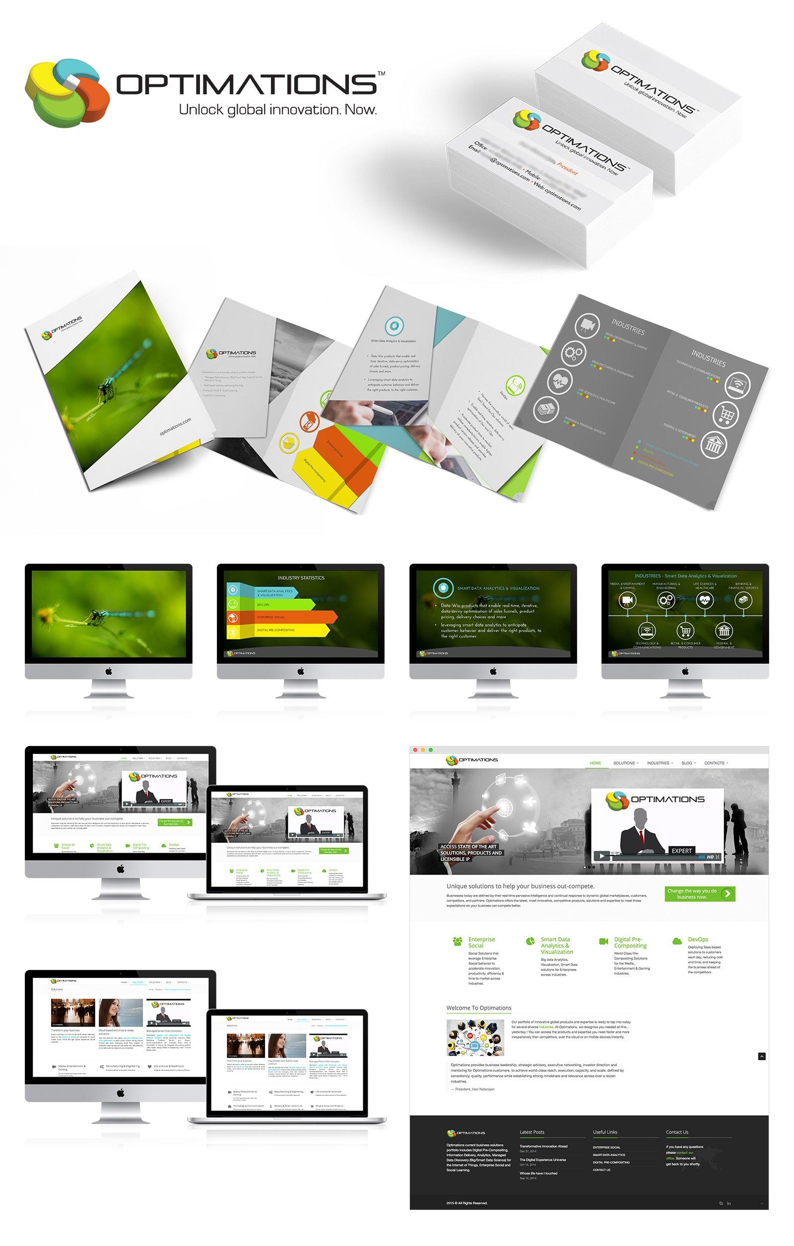 Optimations Branding Digital & Print