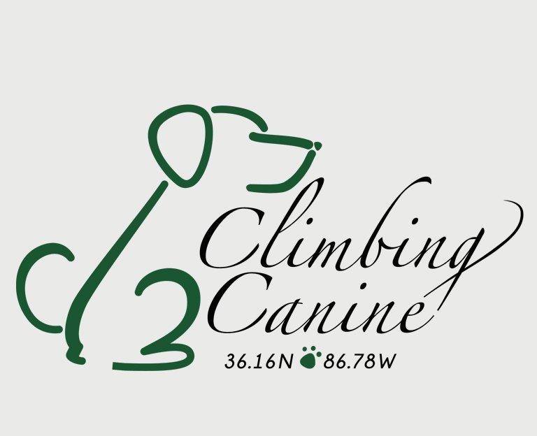 Climbing Canine Logo